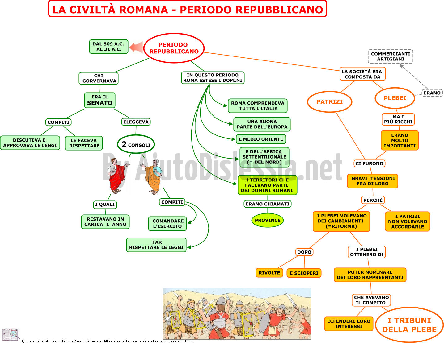 I romani 1 ist superiore for 1 case di storia